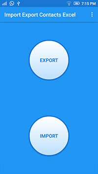 application mobile d'import export